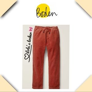 Boden Relaxed Slim Pull On Corduroy Pants